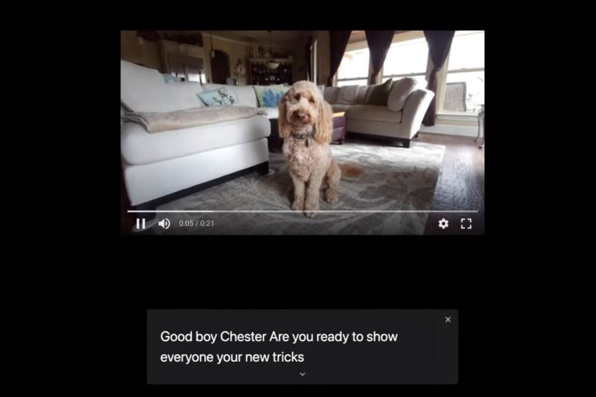 chrome live caption
