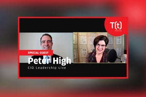 Podcast: CIO Leadership Live with Peter High, president of Metis Strategy and author