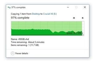 curcial x63 100881876 medium - Crucial X6 USB SSD review: Good price, good performance, good design