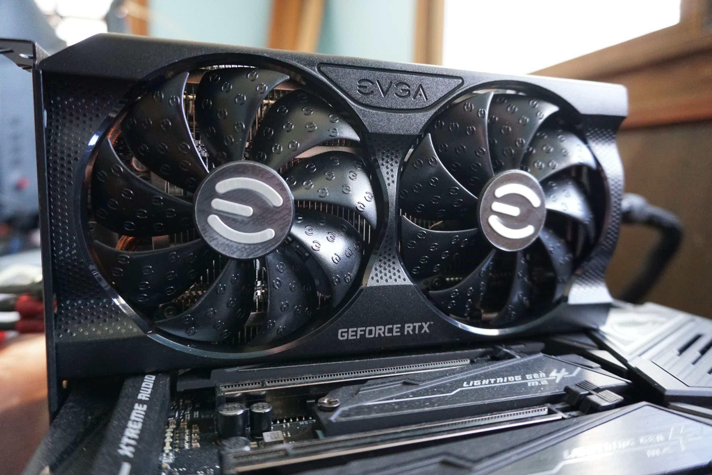 GeForce RTX 3060 XC Black Gaming