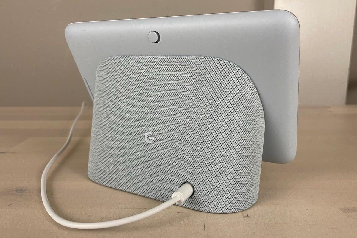 google nest hub 2nd gen rear