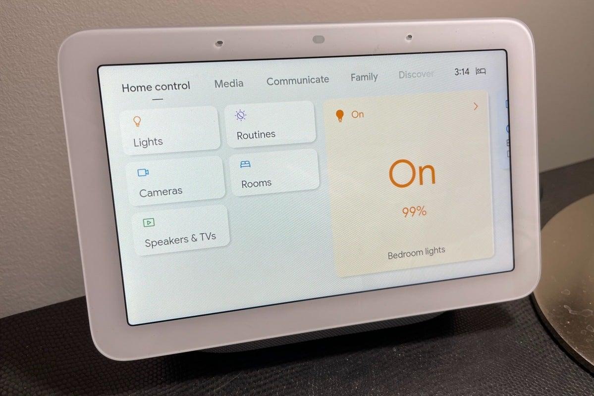 google nest hub 2nd gen smart home