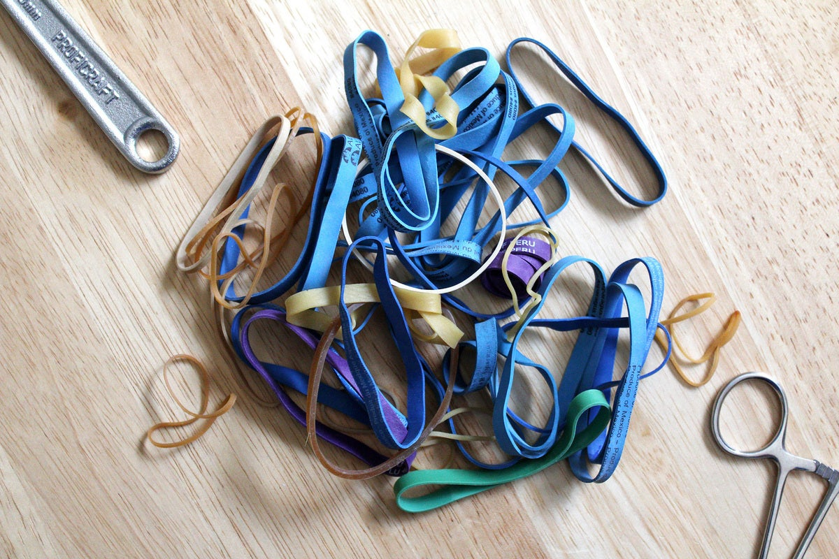 rubber bands pc building tools