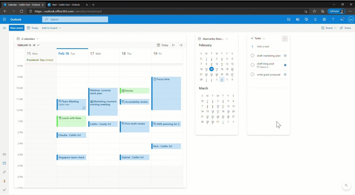 Microsoft Outlook Board Viewer