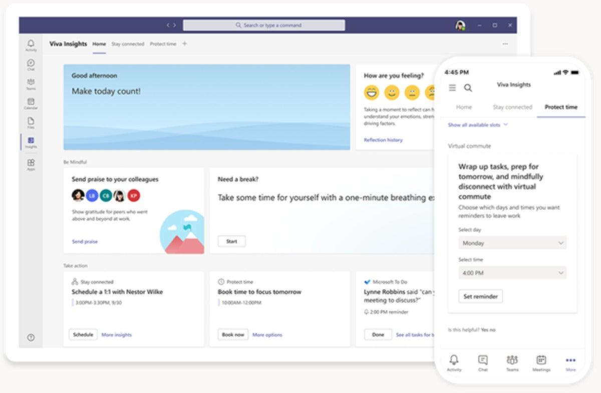 اتصالات Microsoft viva بزرگتر است