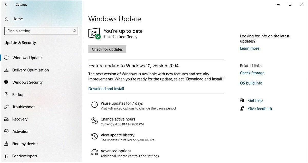 Siguiente versión de Windows 10