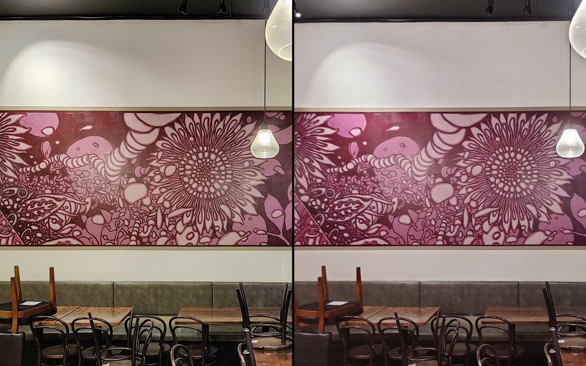 oneplus9pro vs 8pro restaurant