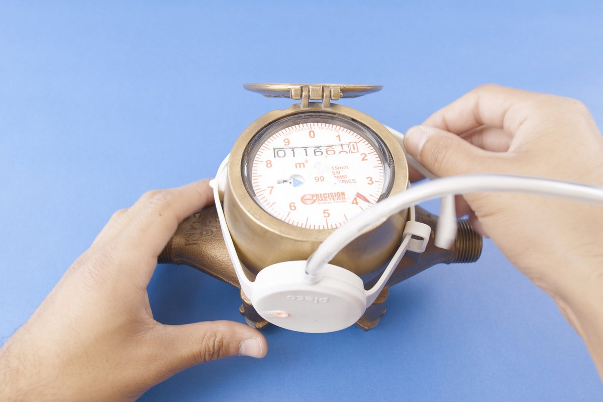 pleco sensor on water meter