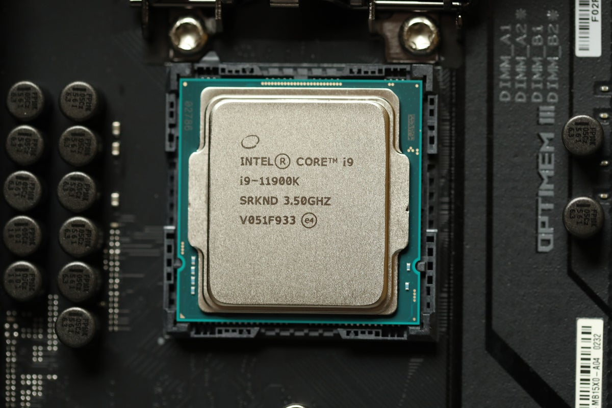 Intel 11th gen Core i9-11900K Rocket Lake-S