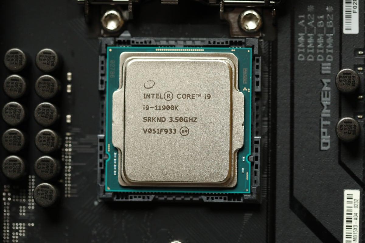 Intel 11th gen Core i9-11900K Rocket Lake-S