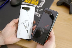 How the ROG Phone 5's crazy controls turbocharge mobile games