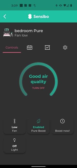 sensibo pure app 2