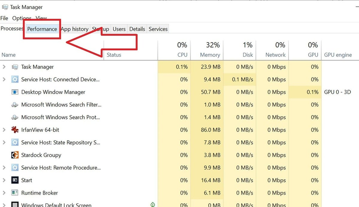 task manager main