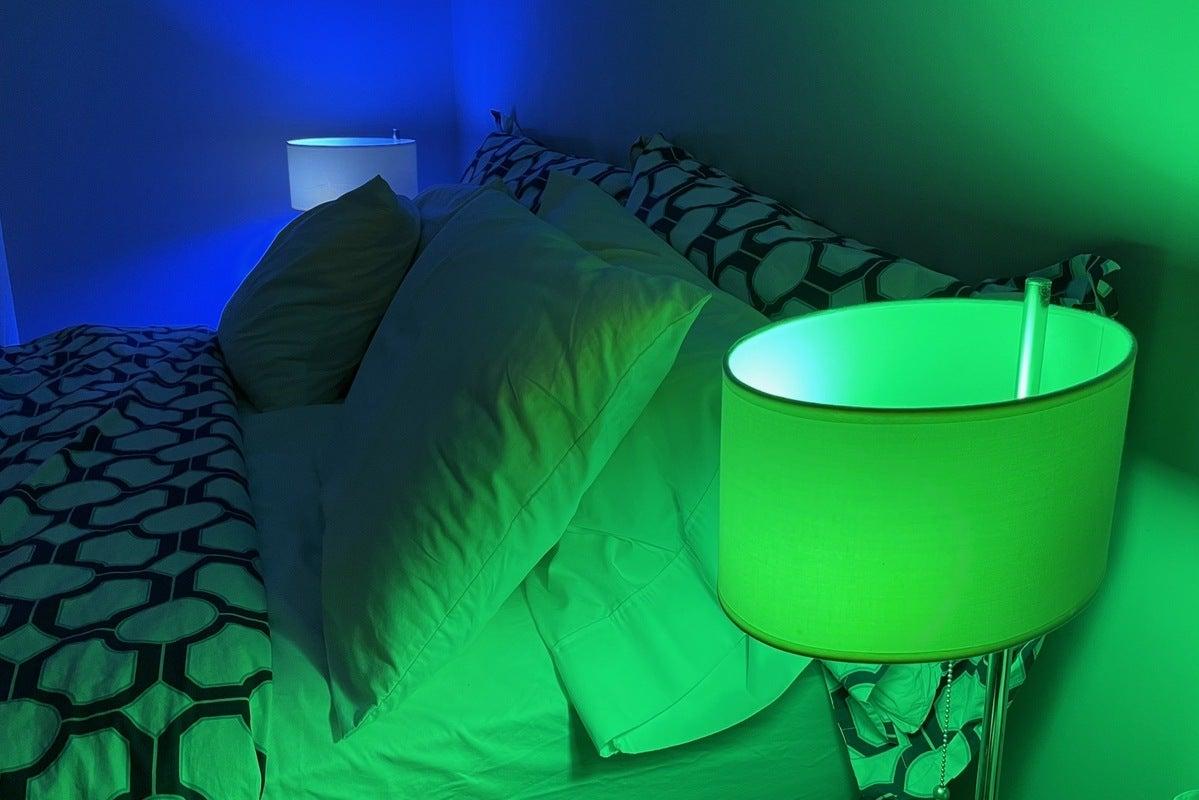 گروه بندی رنگهای لامپ