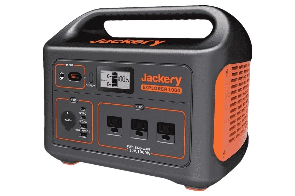 photo of Jackery Explorer 1000 Portable Power Station review: Good for venturing off the grid image