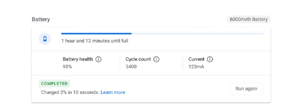 google diagnostics chromeos