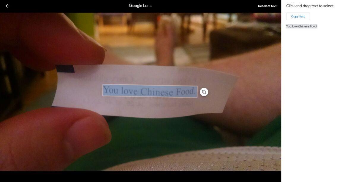 متن در عکسهای گوگل 2