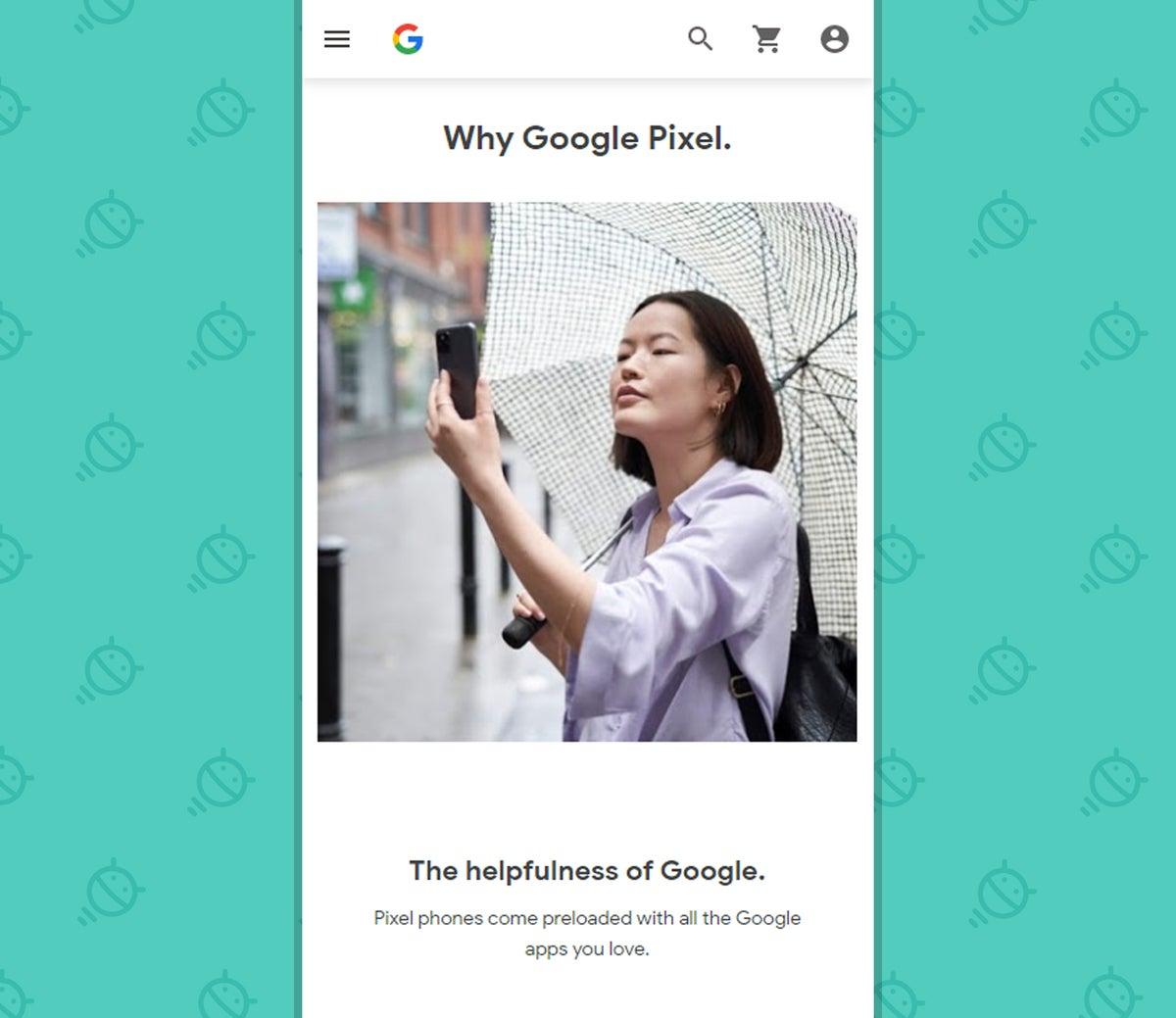 Google Pixel Phones - Store