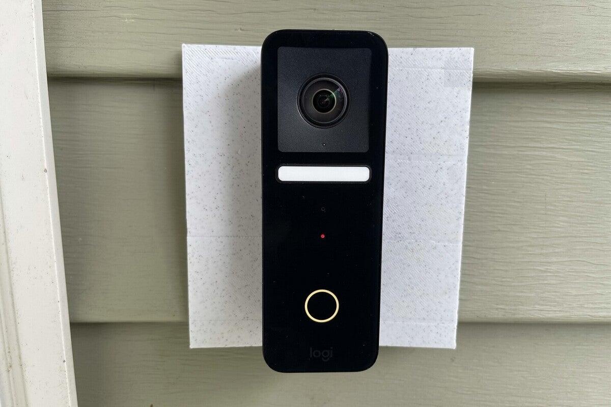 logitech circle doorbell installed 01