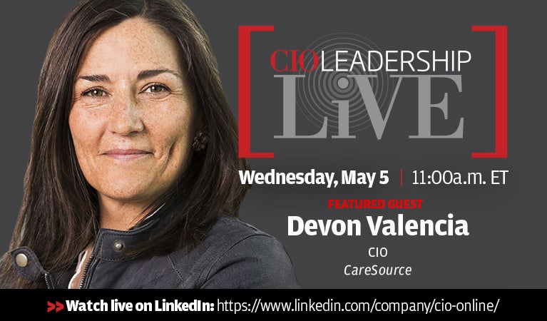 CIO Leadership Live, May 5