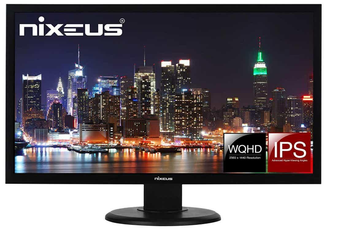 """Nixeus Vue 27"""" IPS 2560 x 1440 60Hz Monitor"""