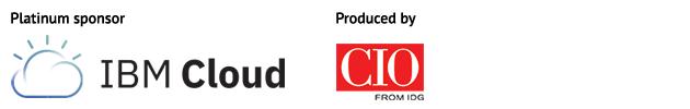 IBM Cloud and CIO logos
