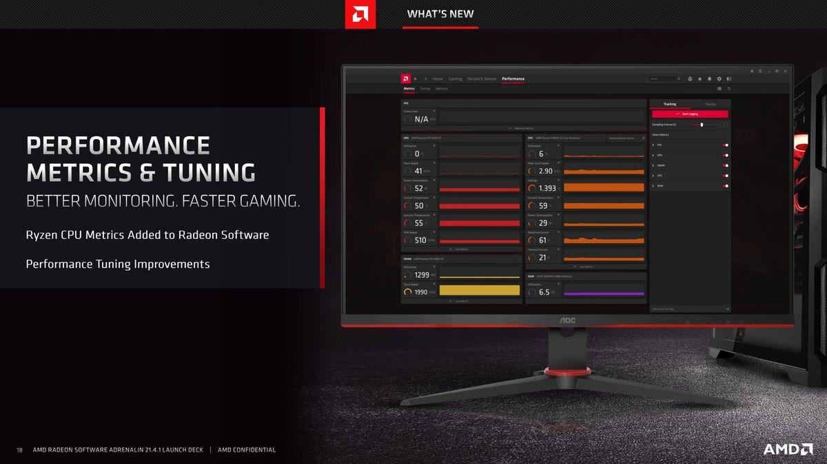 radeon software performance tuning