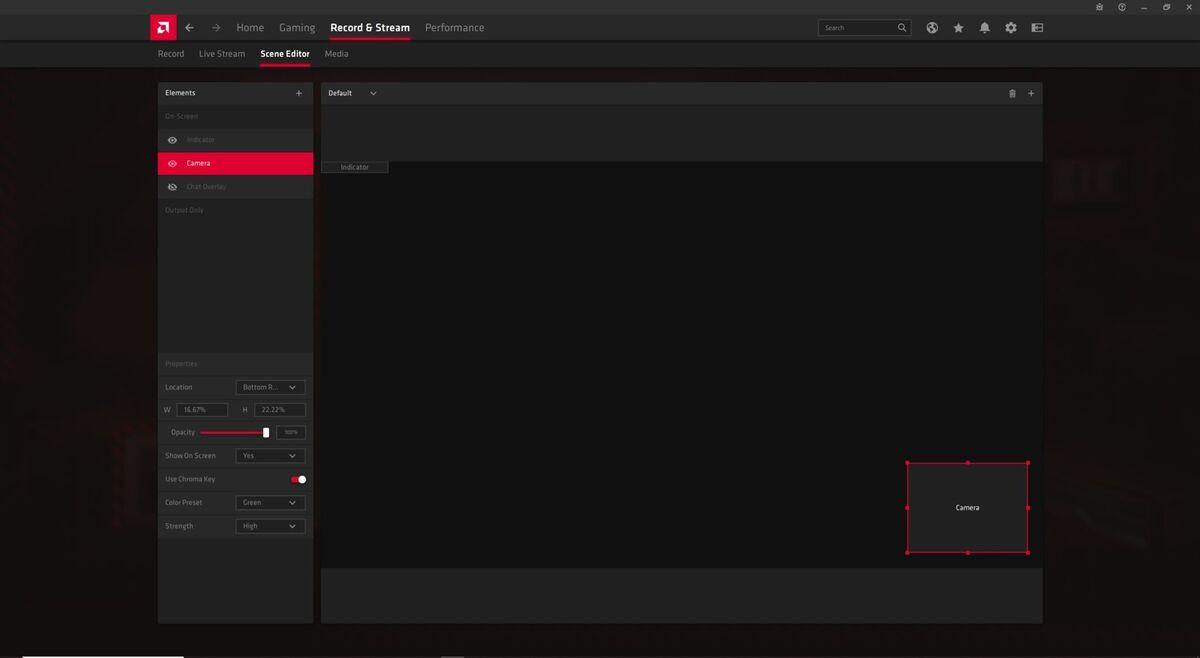 radeon software streaming