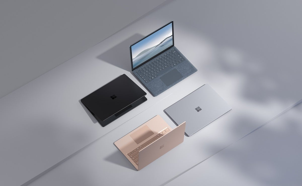 اندازه لپ تاپ سطح Microsoft 4 اندازه است