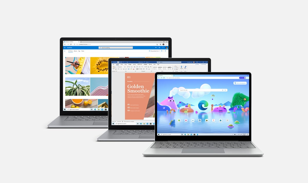 خانواده لپ تاپ سرفیس مایکروسافت