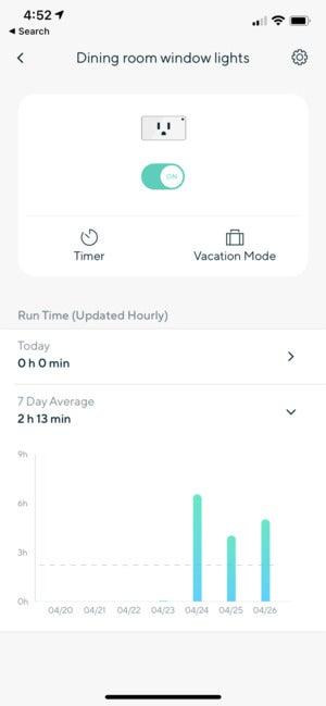 wyze labs smart plug app 2