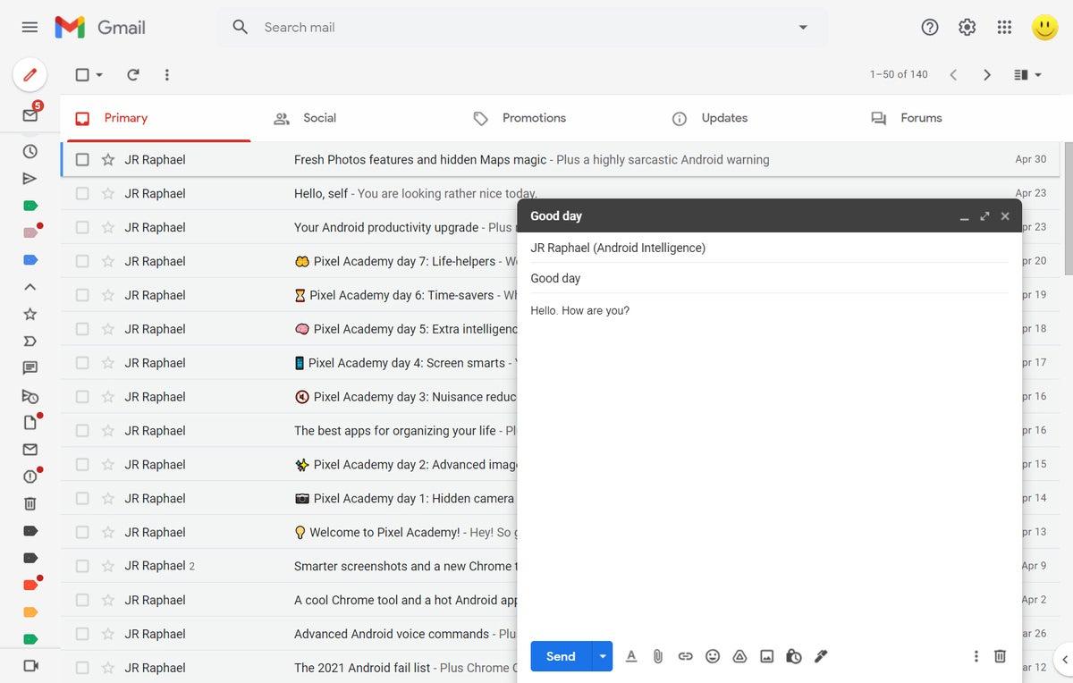 04 ventana de redacción de gmail para empresas