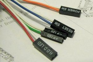 pc front panel connectors