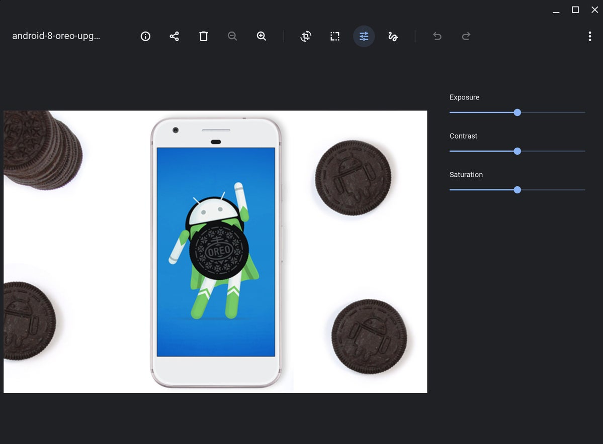 editor de imágenes sin conexión chromebook