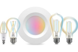 cree connected max glass bulbs and downlight