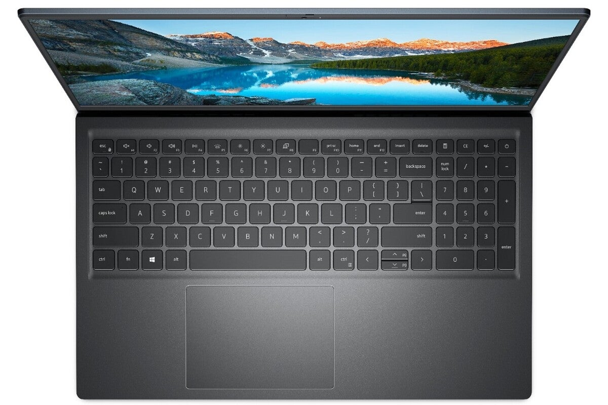 dell inspiron 15 top keyboard black