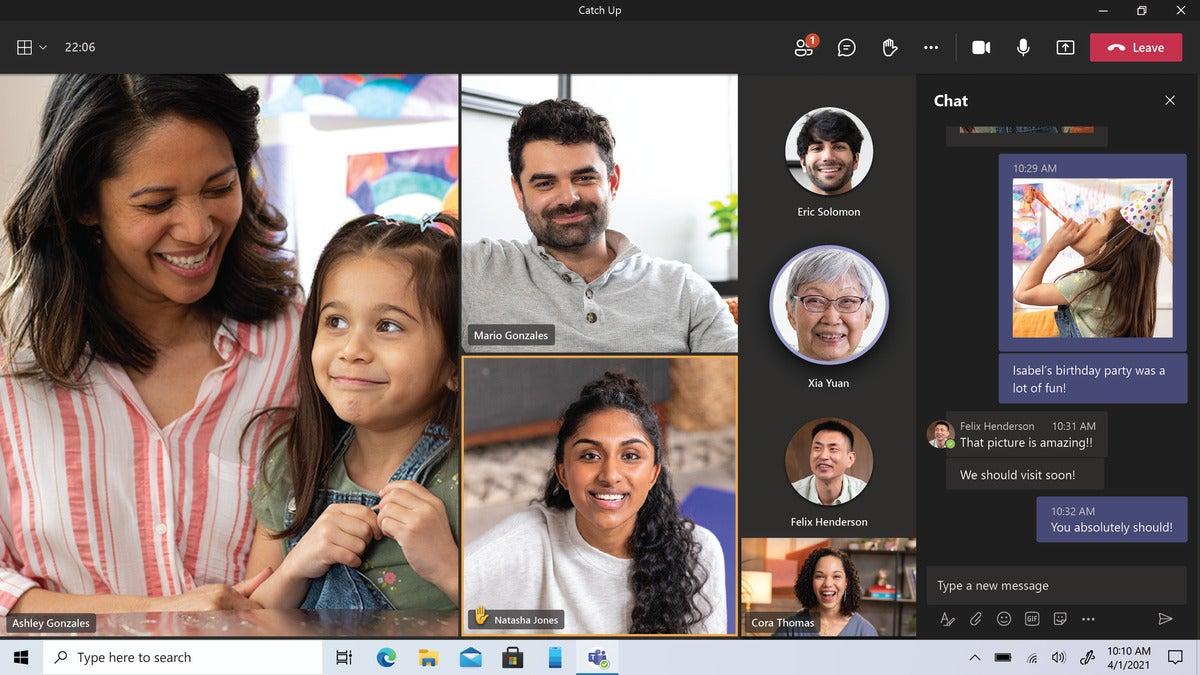 تماس و گفتگوی کاربر با تیم های Microsoft Teams