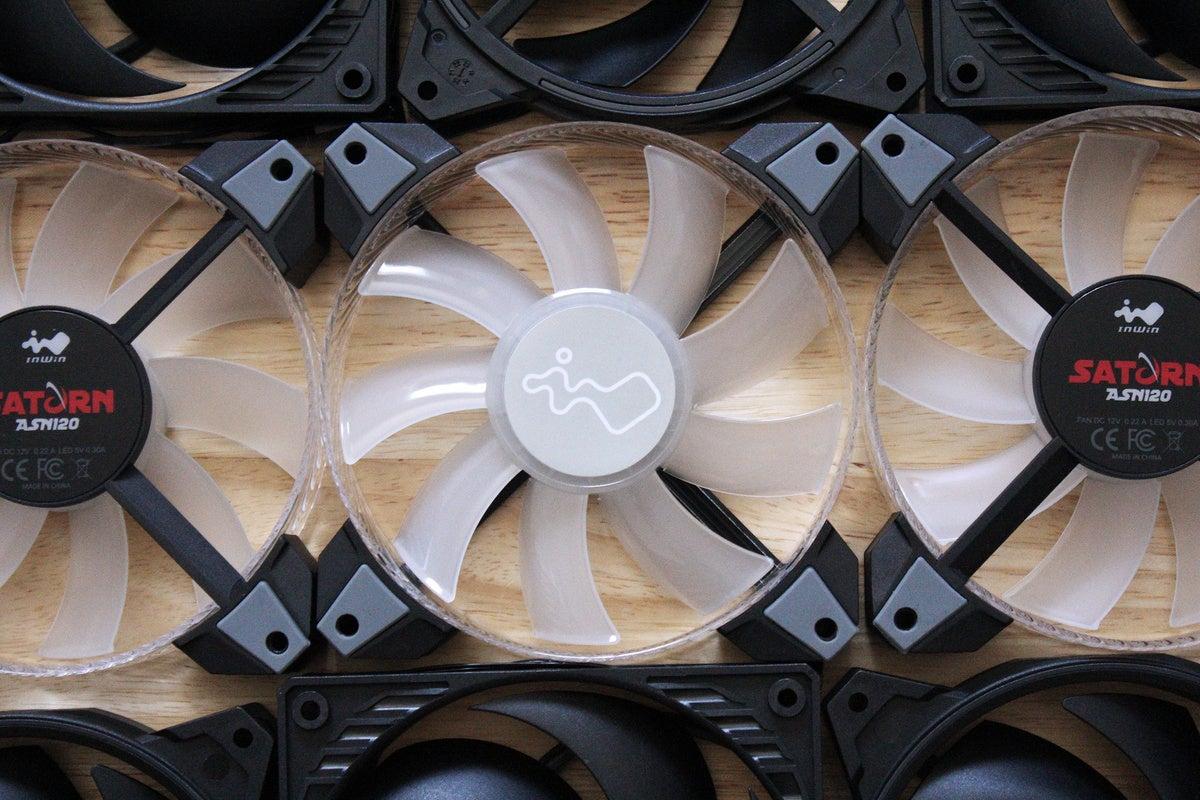 case fans filling view