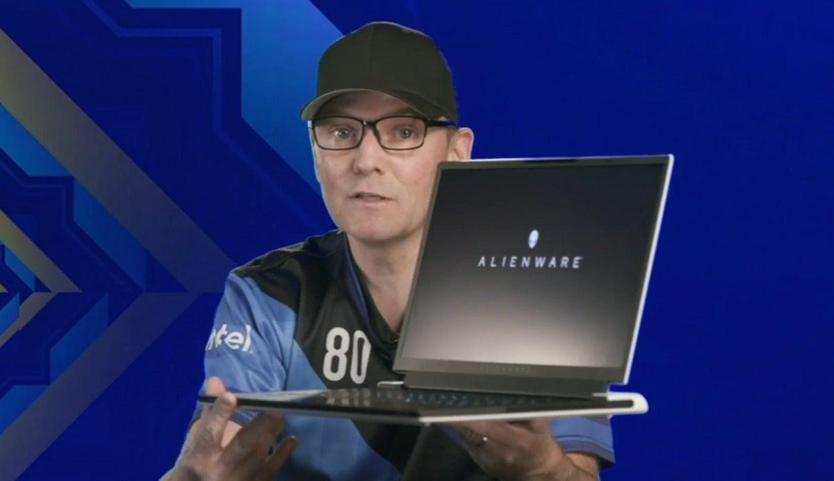intel 11th gen mobile core alienware laptop