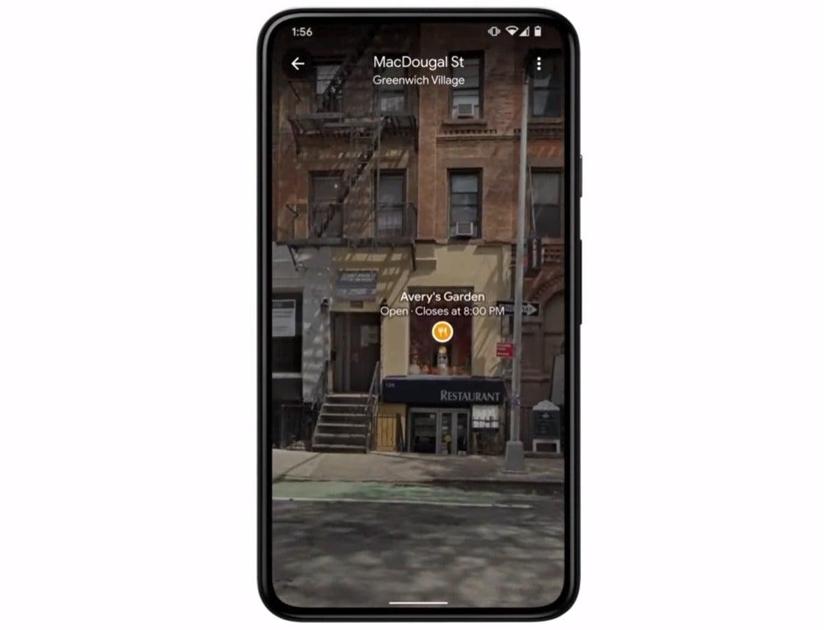 google io ar view of neighborhood