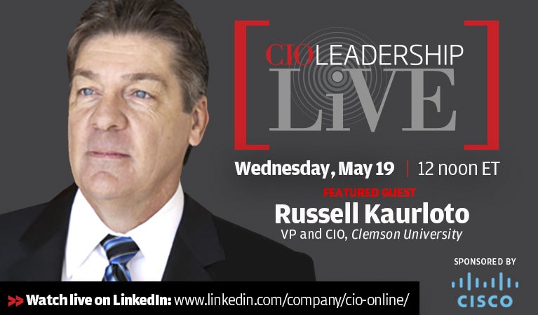 CIO Leadership Live, May 19