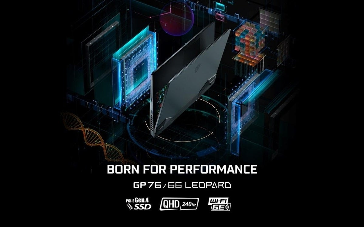 MSI Leopard laptops with Tiger lake H