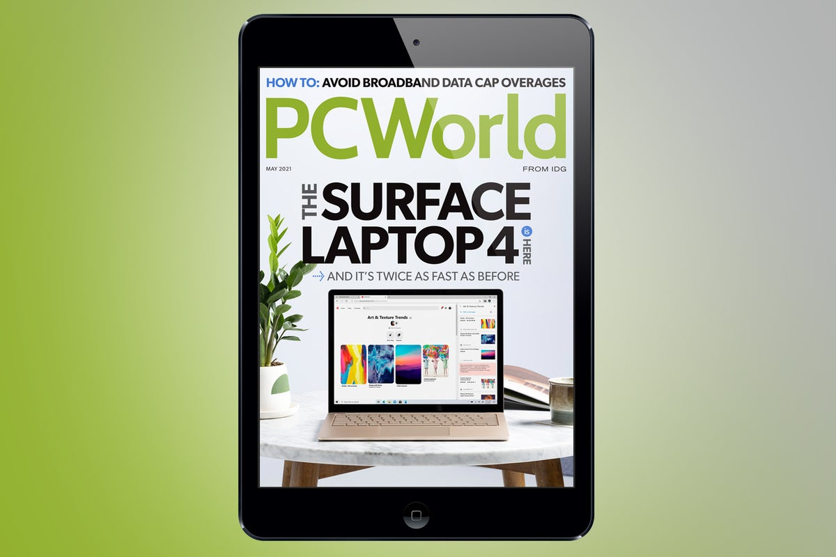 <p>PCWorld's May digital Journal: The Surface Laptop 4 is here thumbnail