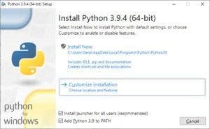 установка python 01