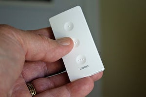wemo stage in hand