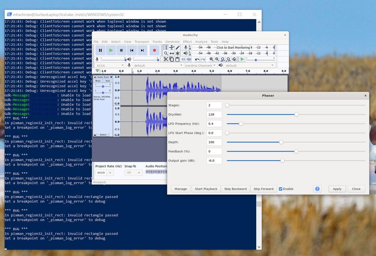 زیر سیستم مایکروسافت ویندوز برای جسارت linux wsl wsl با تخته فیبر