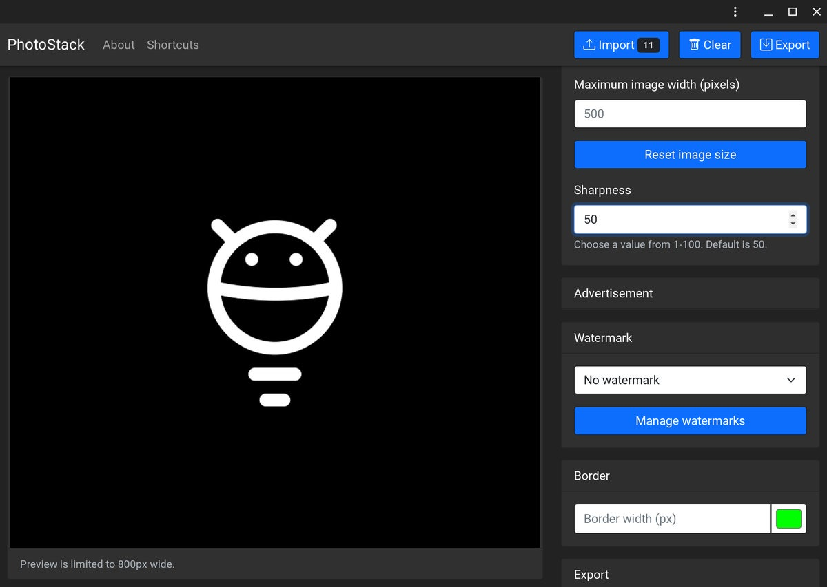06 photostack de aplicaciones web progresivas