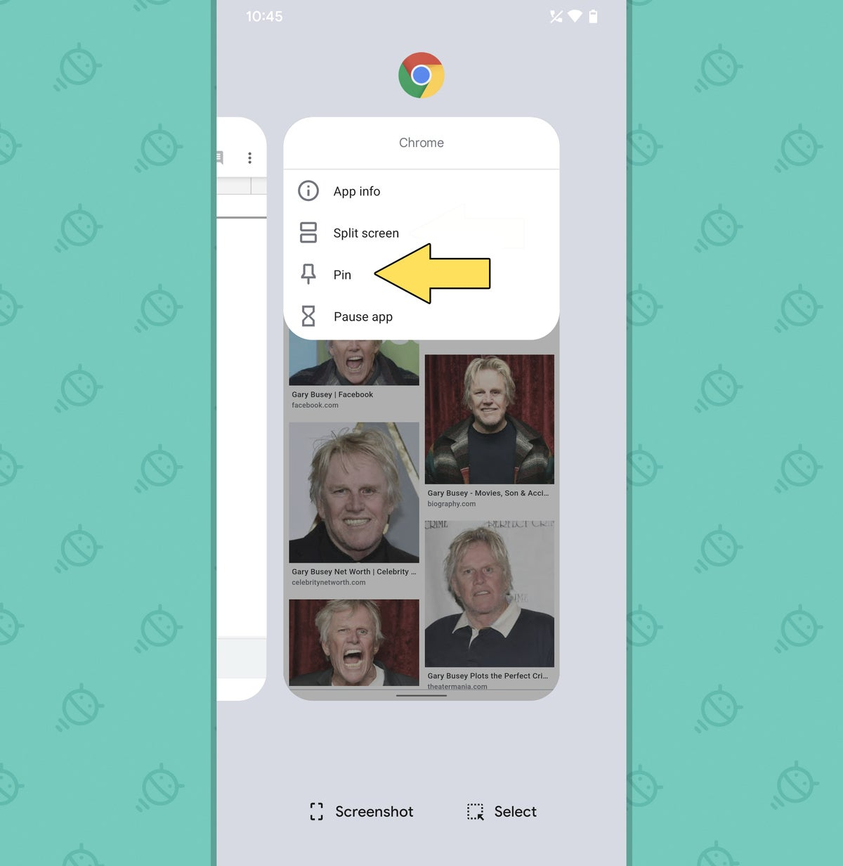 Funciones de píxel: aplicación de pin de descripción general