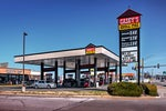 Casey's General Stores is a chain of pizza restaurants + convenience stores in the American Midwest.
