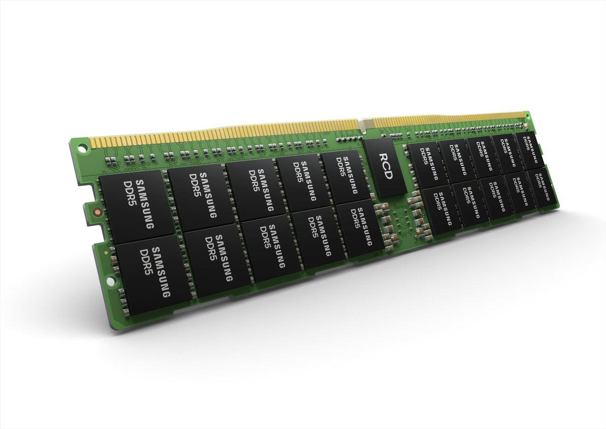 Samsung DDR5 registered module